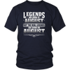 Legends Are Born On August 24 T-shirt Birthday