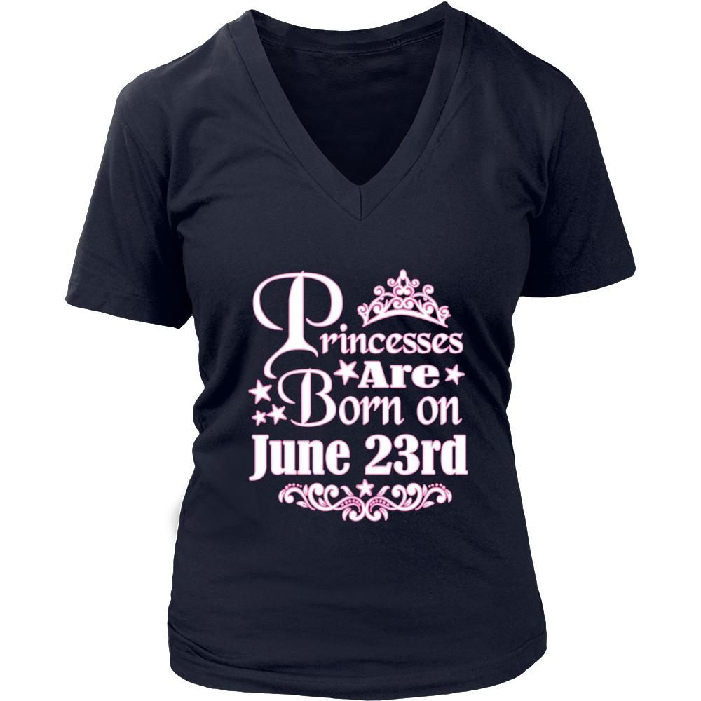 PRINCESSES ARE BORN ON JUNE 23rd