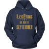 LEGENDS BORN SEPTEMBER