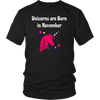 Unicorns Are Born In November T-shirt Gifts