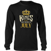 Men's T-Shirt Kings Are Born In July