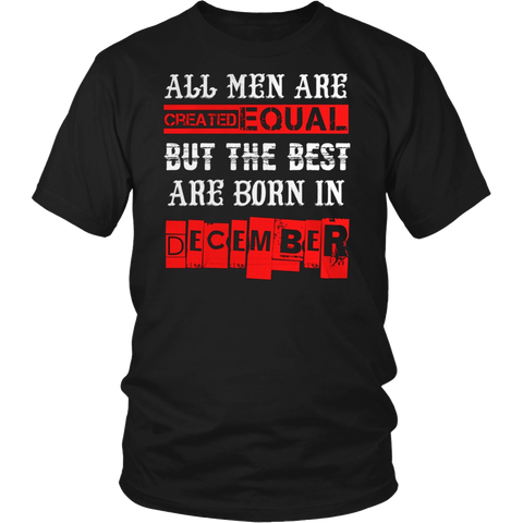 BEST MEN ARE BORN IN DECEMBER