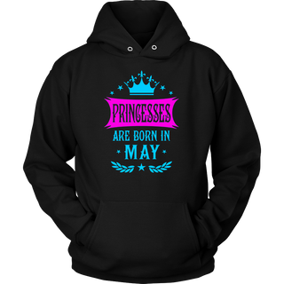 Princesses Are Born In May shirt - Brithday gifts