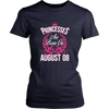 Princesses Are Born On August 08 Birthday T-shirt Gift