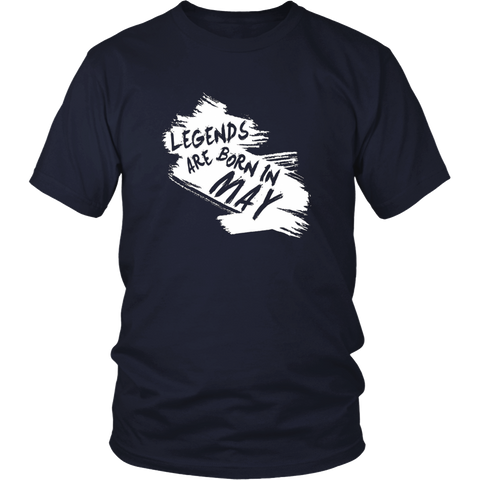 Legends are born in May Shirt, May Birthday Gift V1