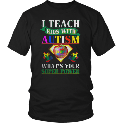I Teach Kids With Autism What's Your Supperpower
