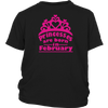 Princess are born in March t shirt