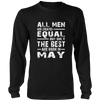 the best Are Born in May t- shirt