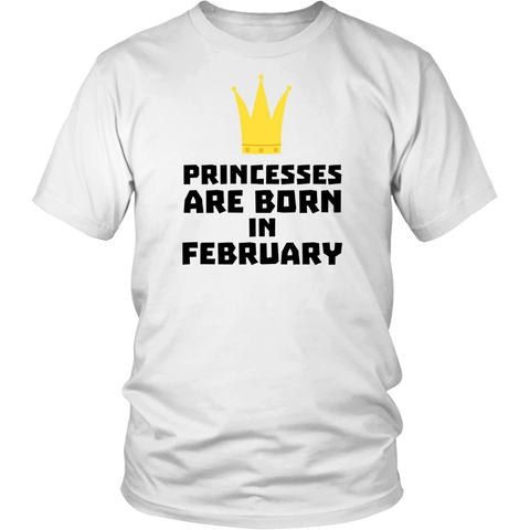 Princesses are born FEBRUARY - infant and king Ag24h