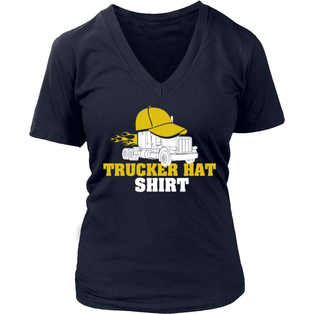 trucker hat shirt