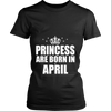 PRINCESSES ARE BORN IN APRIL