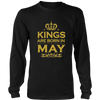 Kings Are Born In May T-Shirt
