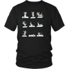 Dog Yoga Poses T-Shirt