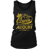 This Queen Was Born On August 14th T-shirt August Queens