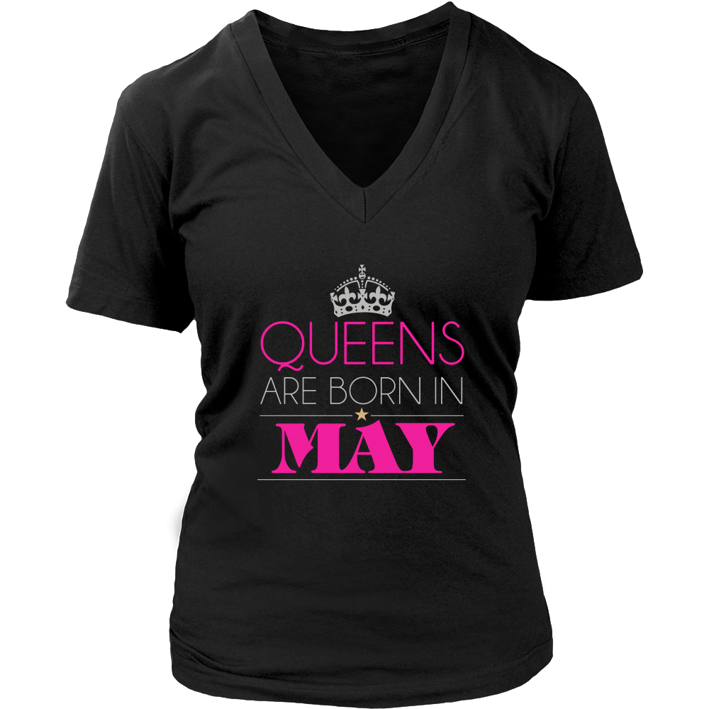 Queens Are Born In May Shirt, Born in May Shirt