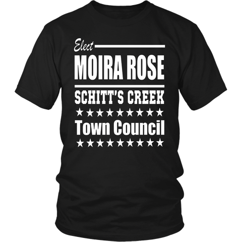 Schitt's Creek Elect Moira Rose Town Council