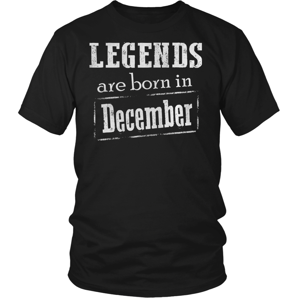 LEGENDS ARE BORN IN DECEMBER