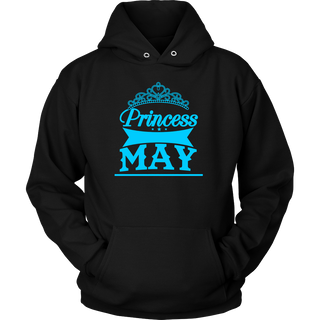 Princess are born in May shirt - Princess For Women, Girls