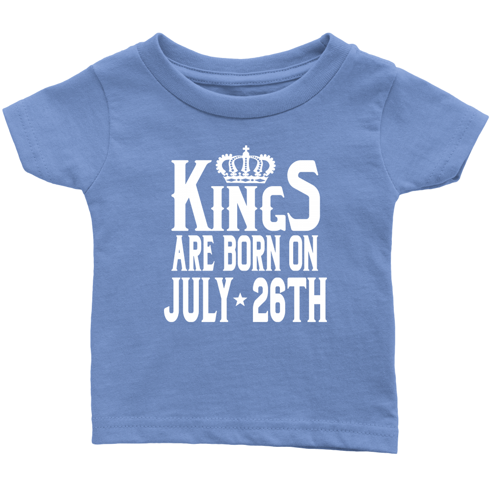 Born On July 26 You Wouldn't Understand Birthday Gift Shirt kids
