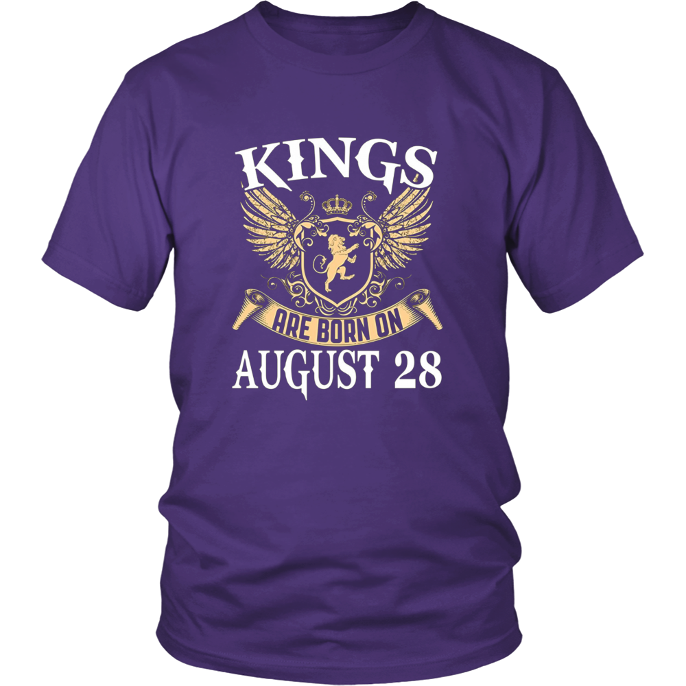 KINGS ARE BORN ON AUGUST 28