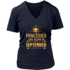 Princess Are Born In September Shirt
