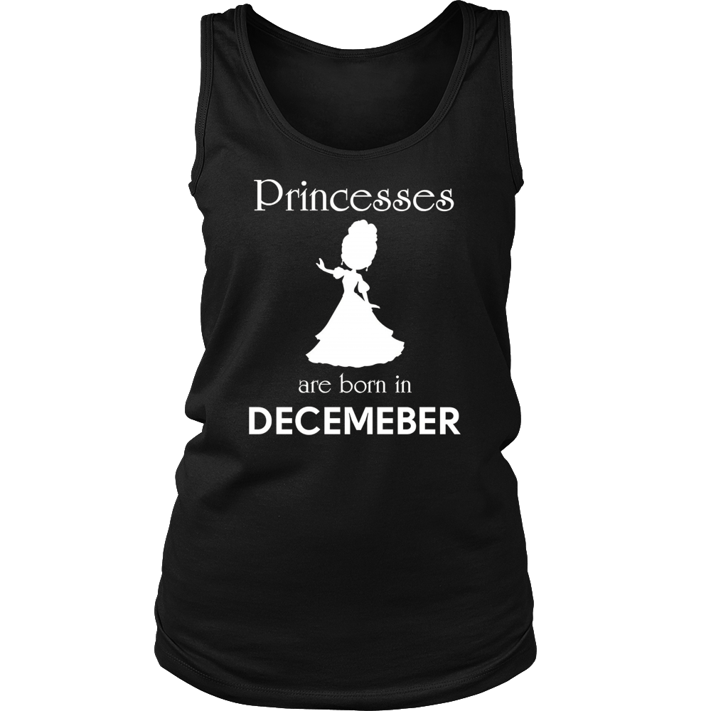 Wonder Princesses are born in December - Funny birthday t-sh