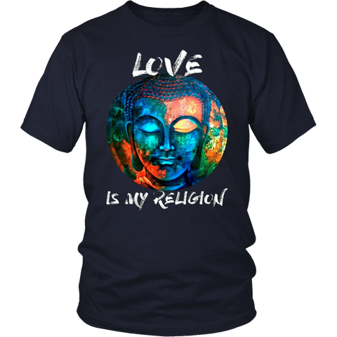 Humanity is my race love is my religion t-shirt