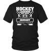 Hockey Legends are Born in January T-shirt