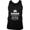 Mens Kings Are Born In June T-Shirt