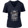 I'm a December Woman T-Shirt Birthday Gift