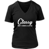 Classy But I cuss a little Swear sassy lady woman funny tee