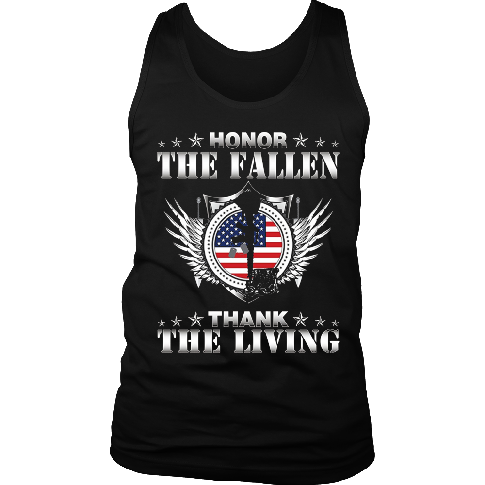 Honor The Fallen Thank The Living T-Shirt