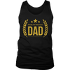Men's World's Okayest Dad Shirt Funny Fathers Day Gift for Daddy