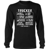 Trucker - Long hours may cause binge drinking T shirt