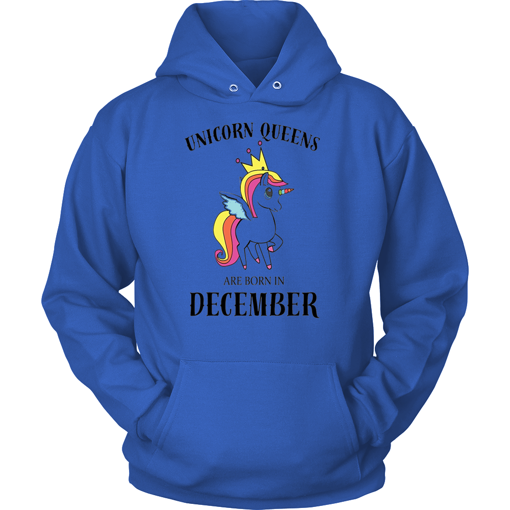 unicorn queens are born in december 2017 birthday t shirts