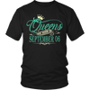 Queens Are Born On September 06 T-Shirt