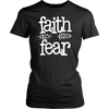 Faith Over Fear Come Unto Him Hope Beautiful Graphic Tee