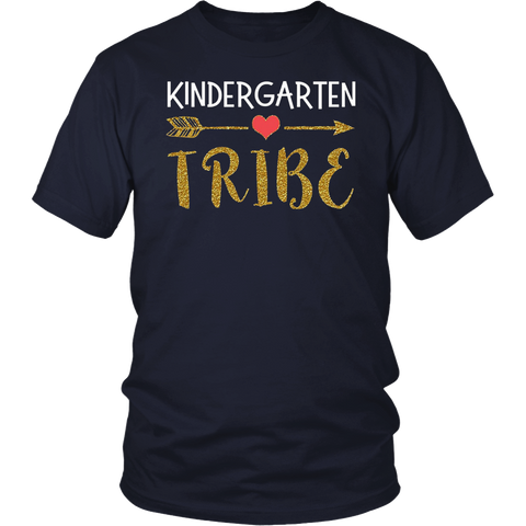 Kindergarten Tribe Teachers Gift T Shirt 1st Day of School