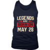 LEGENDS ARE BORN ON MAY 28