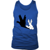 Rabbit Trek Hand Shadow T-Shirt Hoodie
