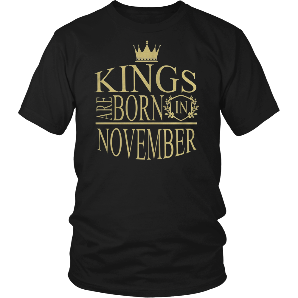 KINGS ARE BORN IN NOVEMBER