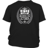 Men's Kings are born in October Tshirt Birthday gift shirt