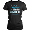 Queens Are Born On August 07 Birthday T-Shirt