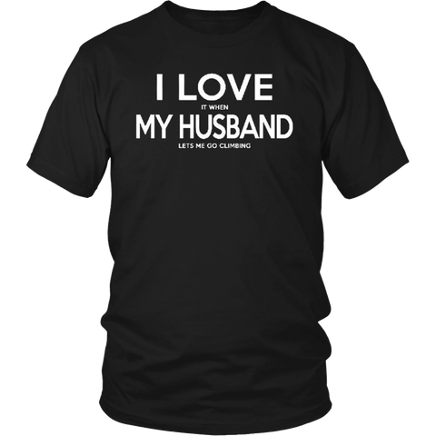 Mens I Love it When My Wife Lets Me Buy More Guns Gift Shirt