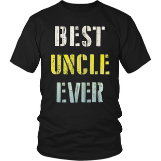 Best Uncle Ever Shirt, Fathers Day Gifts, Uncle Shirts