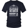 Kings Are Born On August 21 Birthday T-shirt Gift Shirt