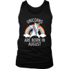 Unicorn Are Born In August T-Shirt Funny Dance Gift Shirts Hoodie