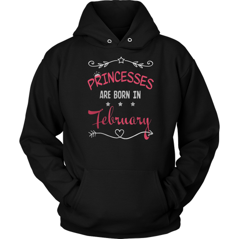 Princess are born in January t shirt