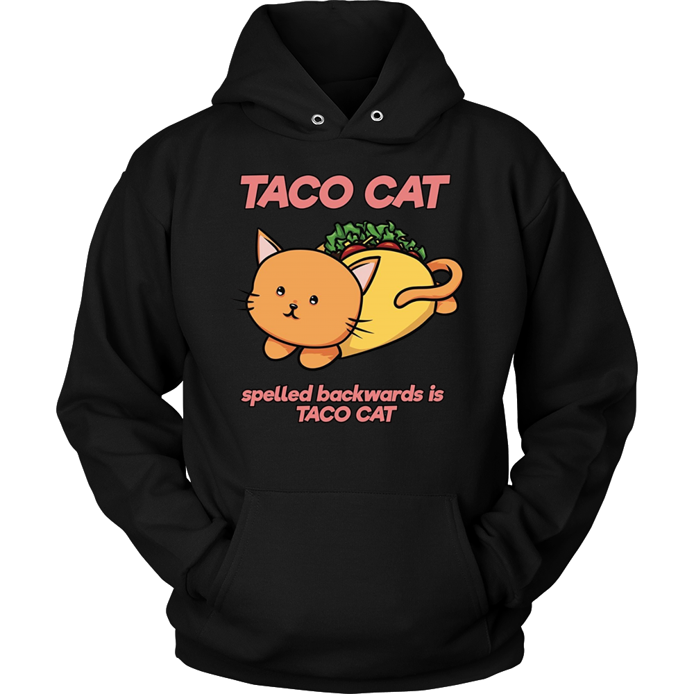 Funny Taco Cat Spelled Backwards is Taco Cat T-Shirt