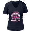 Queens Are Born On August 22 Birthday Gift Shirt